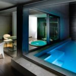 pool and jacuzzi room